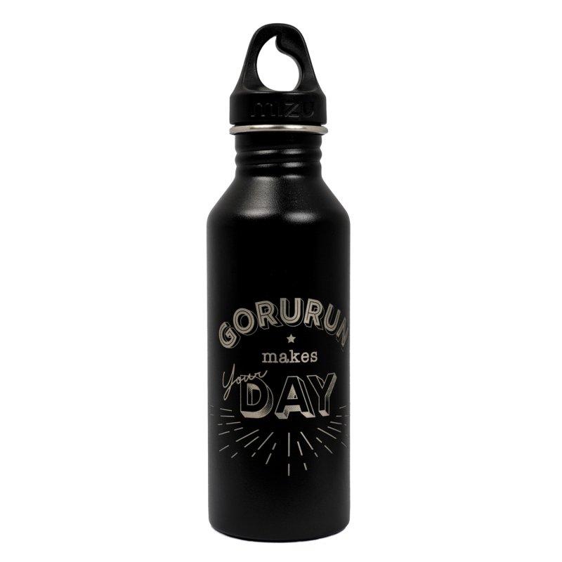 Gorurun mizu M5 ステンレスウォーターボトル 18oz 530ml ブラック