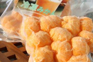 冷凍みかん(500g ※小玉が10〜11個)
