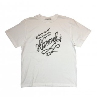 BARBED WIRE BIG TEE(WHITE)