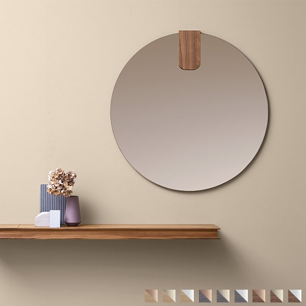 Clip Mirror round