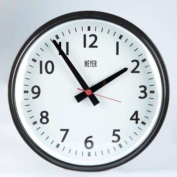 Vintage Clock Black