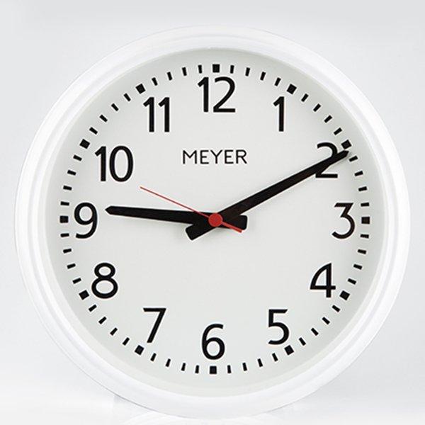 Vintage Clock White