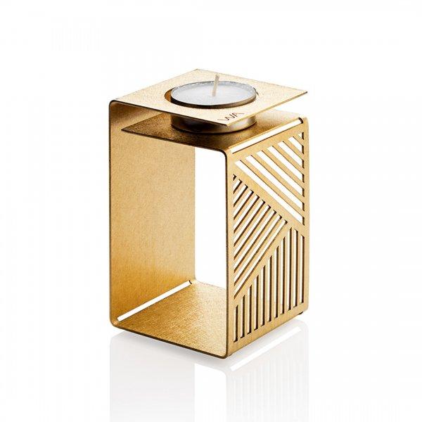 KARL - brass candle holder