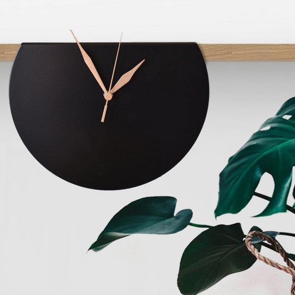 Black Gala Clock