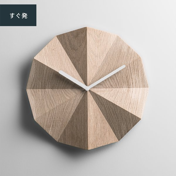 <img class='new_mark_img1' src='https://img.shop-pro.jp/img/new/icons56.gif' style='border:none;display:inline;margin:0px;padding:0px;width:auto;' />Delta Clock Oak (白針