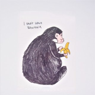 黒山 I only have banana Monkey File