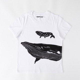 黒山 Whales T-SHIRT