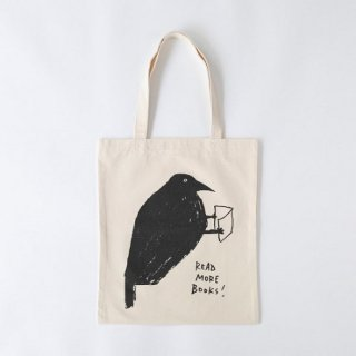 黒山 Read More Books! Crow Bag