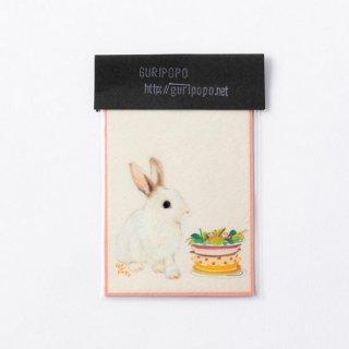 GURIPOPO Saladウサギ マグネット