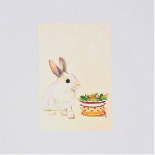 GURIPOPO ポストカード ウサギ