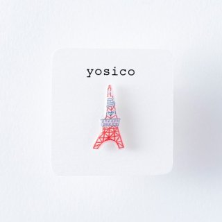 yosico ひとつぶピアス 東京タワー