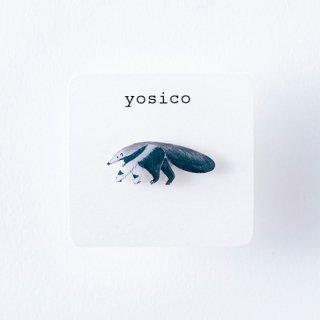 yosico ひとつぶピアス オオアリクイ