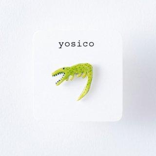 yosico ひとつぶピアス ワニ
