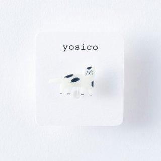 yosico ひとつぶイヤリング ぶちネコ