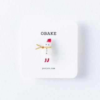 yosico 冬のオバケブローチ