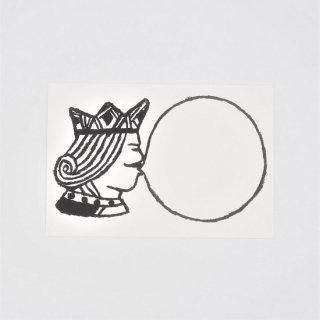 たつみなつこ BUBBLE GUM ポストカード No.6