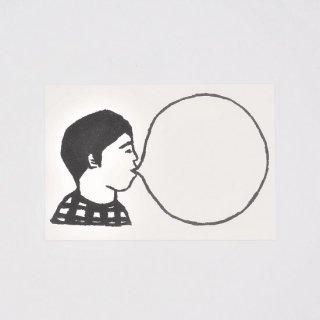 たつみなつこ BUBBLE GUM ポストカード No.7