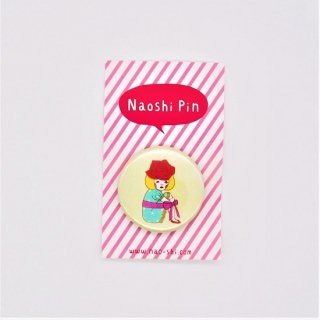 Naoshi 缶バッジ 一輪のバラ