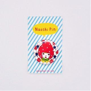 Naoshi 缶バッジ イチゴ王子