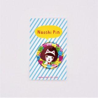 Naoshi 缶バッジ Dancing Cats