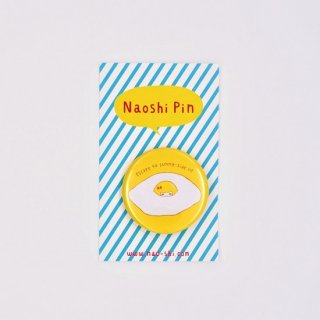 Naoshi 缶バッジ 目玉焼きへの逃避