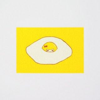 Naoshi ポストカード 目玉焼きへの逃避