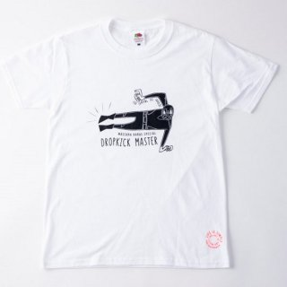 hangyomans プリント Tシャツ DROPKICK MASTER 2018