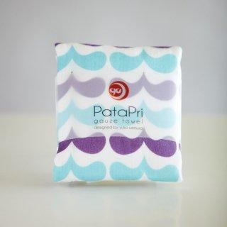 PataPri ガーゼタオル 波