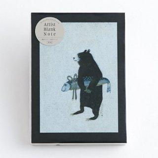 GURIPOPO アーティストブランクノート クマ