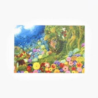 Natsuki Wakita ポストカード 地球の色