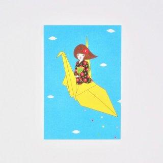 Naoshi ポストカード ツルヒメ