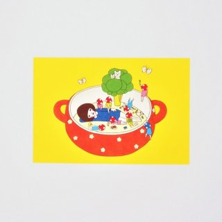 Naoshi ポストカード シチューポット
