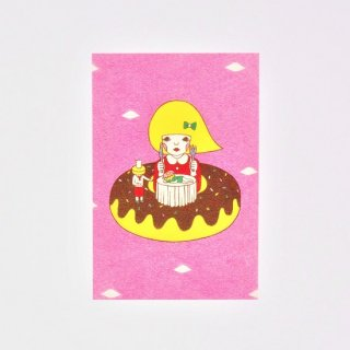 Naoshi ポストカード ドーナツディナー