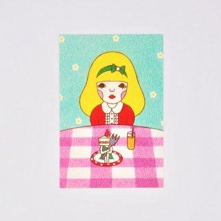 Naoshi ポストカード Boycott Cake