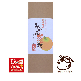 みかん爽麺2個セット<p>(麺つゆ/箱付)