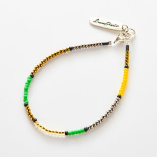 Holly Bracelet GREEN YELLOW