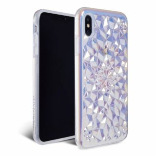 《FELONYCASE フェロニーケース》KALEIDOSCOPE IPHONE CASE CLEAR COSMIC HOLOGRAPHIC iPhone/7.8 X.XS XR XMAX 11