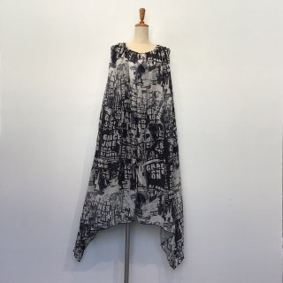 SILK GATHER DRESS