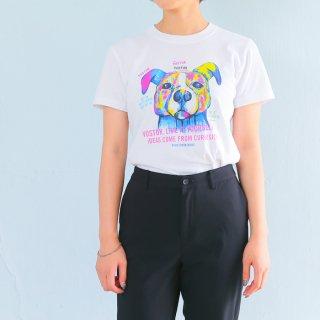 《EIJITAMURA DOG ART TOKYO》DOGART Tシャツ アートTシャツ ドッグアート カラフル ポップアート