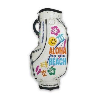 ALOHA ON THE BEACHカートキャディーバッグ【CB-009】