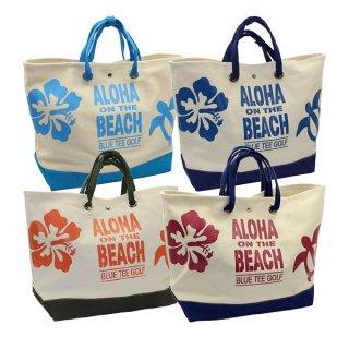 ALOHA ON THE BEACH大型トートバッグ【TT-003】