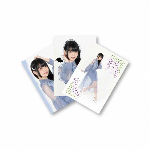 【藤城リエ】ブロマイド3枚セット(私服Ver.)
