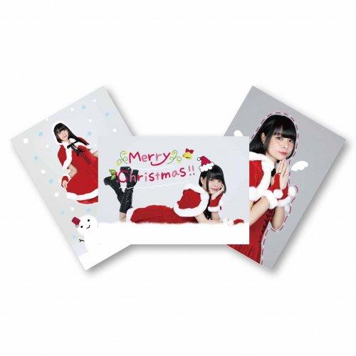 【藤城リエ】ブロマイド3枚セット(クリスマスVer.)