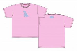 【ギャルと恐竜】「ウケる」ビッグシルエットTシャツ