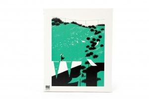 【GREAT PRETENDER】グラフィックアートキャンバス 「シンシア」