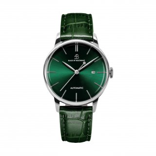 To My Classic 1986 Green Leather green Dial