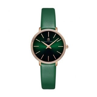 SHINE Green Leather Green Dial