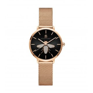 Honey Bee Rg Mesh Black Dial