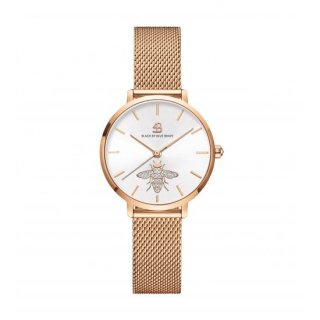 Honey Bee Rg Mesh White Dial