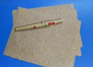 芭蕉紙のミニ便箋